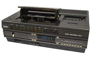 Early VHS player and recoder